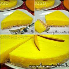 Quer uma sugestão de um #lanche fácil, leve e tentador! É esta deliciosa Torta de Manga Simples, não é?  #Receita aqui: http://www.gulosoesaudavel.com.br/2012/09/14/torta-manga-simples/
