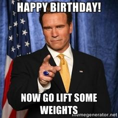 Have a training partner with a birthday coming? Share these crossfit bday memes with them :)