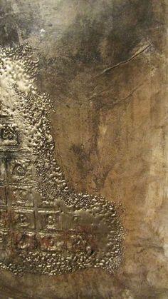 Metallic Abstract Art by Joanna Pierotti