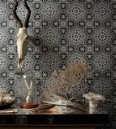 Interior Trends, 2D Tiles | Piccadilly Wallpaper by Cole & Son | Jane Clayton
