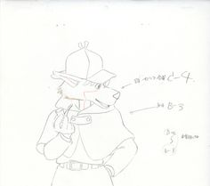 名探偵ホームズ 原画  Sherlock Hound ★ || CHARACTER DESIGN REFERENCES | キャラクターデザイン  • Find more artworks at https://www.facebook.com/CharacterDesignReferences & http://www.pinterest.com/characterdesigh and learn how to draw: #concept #art #animation #anime #comics || ★