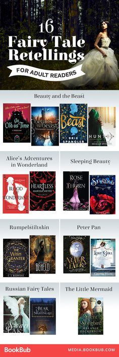 These books are  worth reading put a twist on your favorite classic fairy tales.