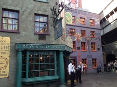 Wizarding World of Harry Potter Hogsmead and Diagon Alley at Universal Studios and Islands of Adventure, Orlando, FL