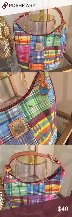 Authentic Dooney & Bourke! Great condition!!! Authentic multicolor plaid/patch work Dooney & Bourke Dooney & Bourke Bags Shoulder Bags