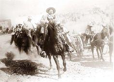 Mexico, Revolution. General Pancho Villa on horseback