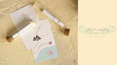 Ocean Breeze Map Cards by Acacia Creatives