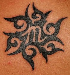 Tribal sun Virgo tattoo, been looking for one for McKinly! I like this! Have one for Braiden!