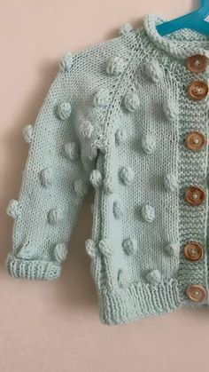 How To Make Hooded Baby Cardigan – Knitting And We Baby Knitting Patterns, Baby Cardigan Knitting Pattern Free, Knitted Baby Cardigan, Baby Pullover, Toddler Sweater, Baby Clothes Patterns, Knitting For Kids, Knitting Designs, Knit Baby Sweaters