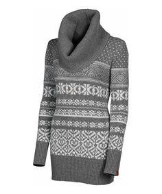 Loving this Gray Heather Bonnie Wool Sweater on #zulily! #zulilyfinds