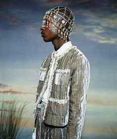 Grace Wales Bonner, AW15 Ebonics Lookbook, Photo courtesy Rachel Chandler l Victoria and Albert Museum