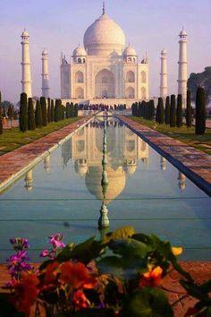 Taj Mahal Agra India Тадж-Махал, Агра, Индия