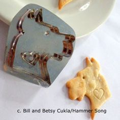 Hammer Song Great Dane Tin Cookie Cutter
