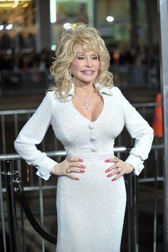 Dolly parton white blouse, naude male at burning man