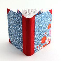 Handmade book with Japanese handmade paper covers | Ruth Bleakley