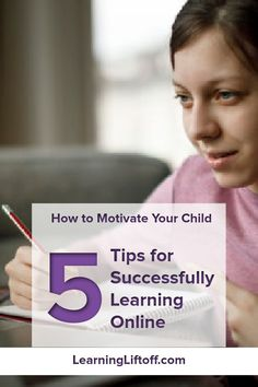 Learn how to motivate your child during what may be a more challenging time as more schools are switching to online learning.