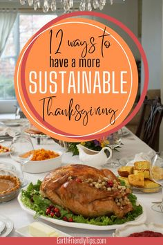 12 Ways to Have a More Sustainable Thanksgiving