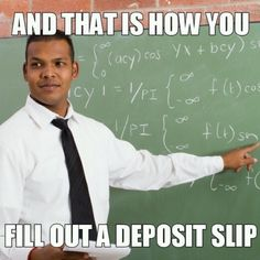 How to fill out a deposit ticket