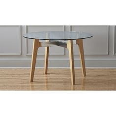 brace dining table | CB2 for the breakfast nook