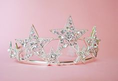 Silver Star Crown by ThePinkCollarLife