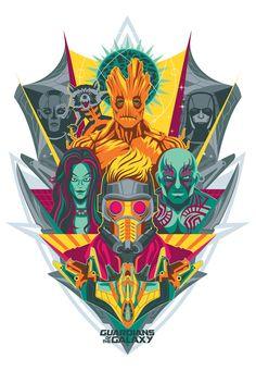 Guardians of the Galaxy, fan art