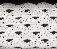 This is a girl's headband. Make it in different colors, and embellish with crocheted flowers!