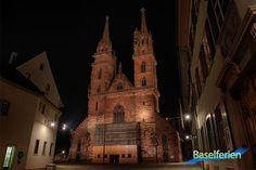 Basler Münster bei Nacht. #Basel