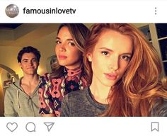 We are already in love. Famous In Love, Tv Show Casting, Series Premiere, Bella Thorne, Love Photos, Special People, Celebs, Celebrities, Percy Jackson