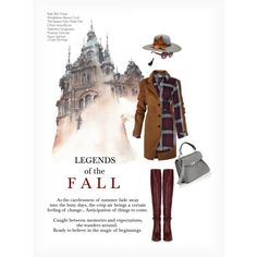 LEGENDS OF THE FALL by paint-it-black featuring Chloé, Proenza Schouler, J.Crew, The Season Hats, Valentino, StreetStyle, plaid, shirtdress, Casu...