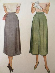 Vintage McCalls 7360 Sewing Pattern Straight by sewbettyanddot, $8.50
