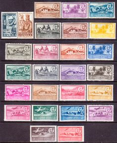 1949-51 SPANISH WEST AFRICA Mi 1-26 ALL ISSUES! MH Camels, planes | eBay