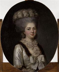 Marie-Louise-Thérèse-Victoire de France (1733-1799), dite Madame Victoire Auteur : Vallayer-Coster Anne (1744-1818) (attribué à)