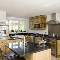 Oak kitchen-diner | Kitchen design | Decorating ideas
