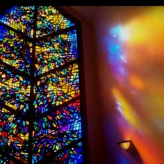 I'd love a huge, elaborate stained glass window in my future home.  Cathedral-style but with an abstract or secular theme.