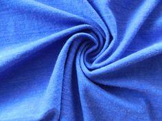 Royal Blue Sapphire  New Zealand  Merino Wool Fabric- Soft and warm