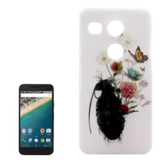 [$0.98] Butterfly and Flowers Pattern PC Protective Case for Google Nexus 5X