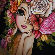Cool Art Drawings, Art Drawings Sketches, Dibujos Pin Up, Frida Art, Mini Canvas Art, Expressive Art, Whimsical Art, Face Art, Diy Art