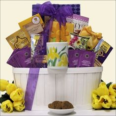 Gourmet Blend Mothers Day Coffee Amp Tea Gift Basket At Baskets Etc Birthday