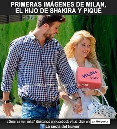 Primera imágenes de Milan, el hijo de Shakira y Piqué :P.  Síguenos: https://www.facebook.com/LaSectaDelHumor