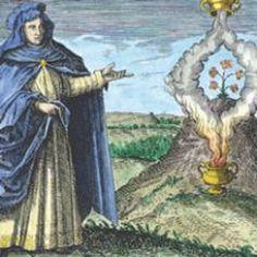 """Maria die Jüdin oder Maria Prophetissa gilt als Begründerin der Alchemie. Die Jüdin, die zwischen dem 1. und 3. Jahrhundert in Alexandria (Nordafrika) wirkte und lebte, war zudem Erfinderin. Auf sie geht der von Carl Gustav Jung als """"Axiom der Maria Prophetissa"""" bezeichnete Ausspruch zurück: """"Die Eins wird zur Zwei, die Zwei zur Drei, und aus dem Dritten wird das Eine als Viertes."""" Dieser Satz inspirierte Goethe zum (scheinbar) sinnlosen """"Hexeneinmaleins"""" im Faust I."""