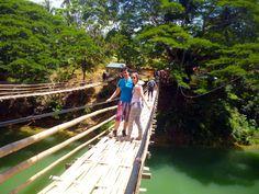 Hanging Bridge, Bohol ~ World Footpath
