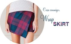 Cose conmigo: Wrap Skirt