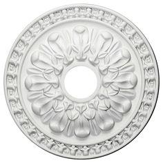 """Warsaw 18""""H x 18""""W x 1.38""""D Ceiling Medallion"""