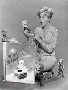 A Christmas surprise for Barbara Eden, 1960s