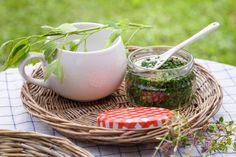 LIBEČKOVÁ MAGGI PASTA - Inspirace od decoDoma Home Canning, Food Storage, Korn, Pesto, Spices, Basket, Herbs, Smoothie, Homemade