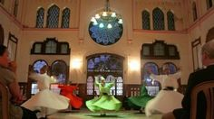 Dervishes at Sirkeci Station--Istanbul, Turkey
