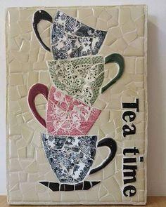 Image Article – Page 458945018269986295 Mosaic Planters, Mosaic Tray, Mosaic Wall Art, Mosaic Garden, Glass Wall Art, Stained Glass Art, Mosaic Glass, Mosaic Tiles, Mosaic Crafts