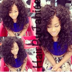 Big curly hair is everything!