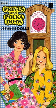 Paper Dolls~Prints  Polka Dots - Bonnie Jones - Picasa Web Albums * 1500 free paper dolls at Arielle Gabriel's The International Paper Doll Society for paper doll pals at Pinterest *