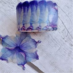 5 Piece Purple Blooms Washi Flower Petal Set. Roll size: Diameter: 3.5cm, Width: 2cm (4 rolls). Roll size: Diameter: 3.5cm, Width: 1.3cm (1 roll). 200 pieces per roll. Free International Shipping #ad #washitape #washitapeset #flowerwashitape #マスキングテープ