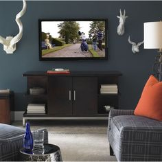 Somerton Dwelling Soho Entertainment Console - Overstock™ Shopping - Great Deals on Somerton Dwelling Entertainment Centers